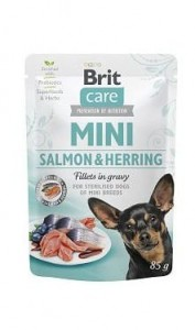 Brit Care Mini Salmon & Herring Sterilised 85g