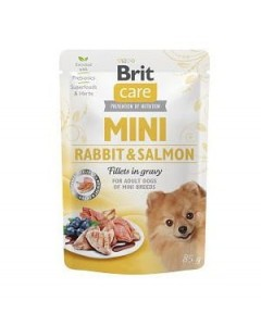 Brit Care Mini Rabbit & Salmon 85g