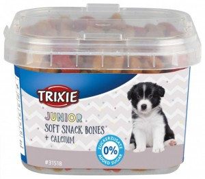 Trixie Junior Soft Snack Bones  z wapniem