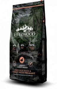 Riverwood Adult Large Breed Duck & Turkey with Pheasant 12kg