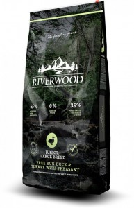 Riverwood Junior Large Breed Duck & Turkey with Pheasant 12kg