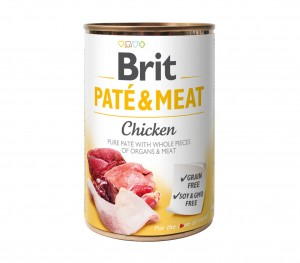 Brit Pate & Meat Chicken Kurczak 400g