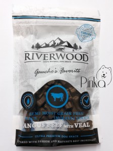 Riverwood Semi Moist Snack Wołowina Angus i Cielęcina 200g