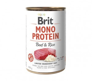 Brit Care Mono Protein Beef & Rice 400g