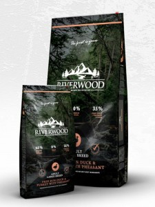 Riverwood Adult Large Breed Duck & Turkey with Pheasant 2kg