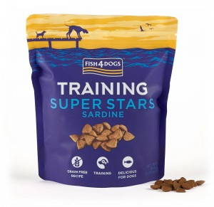 FISH4DOGS Przysmaki treningowe Training Super Stars Sardynki